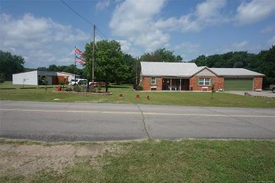 Henryetta Single Family Home For Sale: 26535 Wilson Road