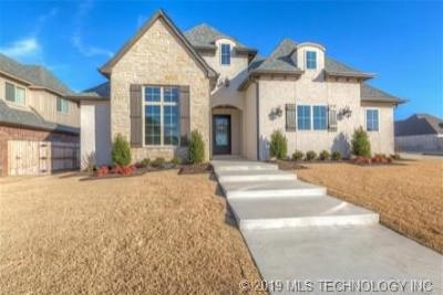 Jenks Single Family Home For Sale: 12915 S 5th Place
