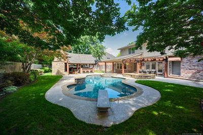 Tulsa Single Family Home For Sale: 5120 E 106th Street