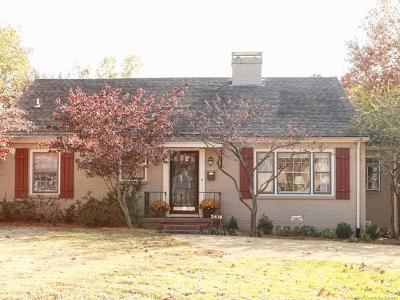 Rogers County, Mayes County, Tulsa County Single Family Home For Sale: 2418 E 25th Place