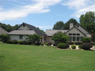 Stigler Single Family Home For Sale: 413 N Spinnaker Run Road