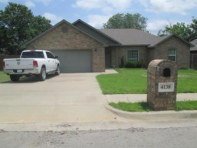 Tahlequah Single Family Home For Sale: 4138 Highland Drive