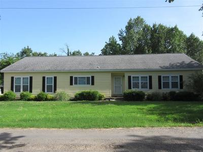 Stigler Single Family Home For Sale: 3613 Timberline Dr Tate S Timberlin Road