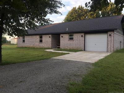 Stigler Single Family Home For Sale: 131 E Bk 800 Road