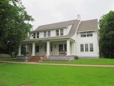 Fort Gibson Single Family Home For Sale: 302 Cemetery Road