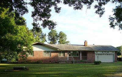 Henryetta Single Family Home For Sale: 15240 Holly Road