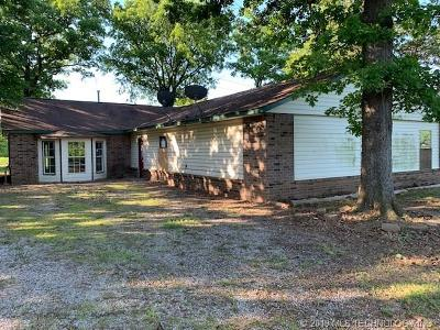Sapulpa Single Family Home For Sale: 18839 S Hickory Road