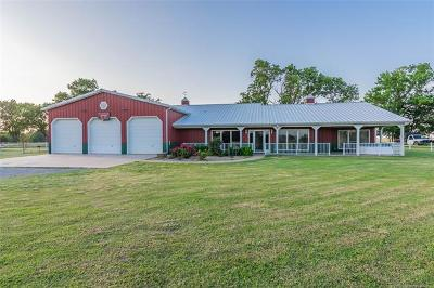 Wagoner Single Family Home For Sale: 71588 S 230 Road