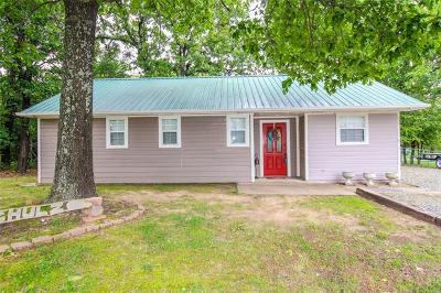 Stigler Single Family Home For Sale: 243 Timberline Road