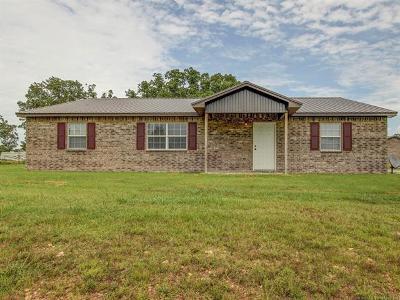 Tahlequah OK Single Family Home For Sale: $147,500