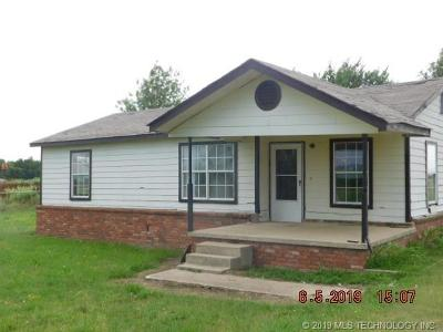 Okmulgee Single Family Home For Sale: 17635 Gun Club Road