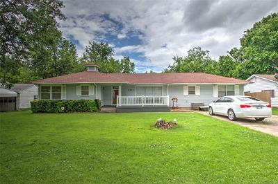 Muskogee Single Family Home For Sale: 2403 Elmira Street