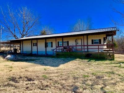 Ada Manufactured Home For Sale: 12855 County Road 1560