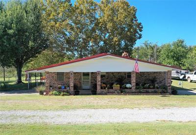 Stigler Single Family Home For Sale: 120 W Bk 1220 Road
