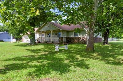 Claremore Single Family Home For Sale: 23662 S Willow Road
