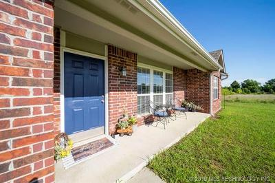Claremore Single Family Home For Sale: 20062 S Klamath Street