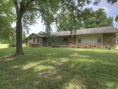 Rogers County, Mayes County, Tulsa County Single Family Home For Sale: 13151 S 4200 Road