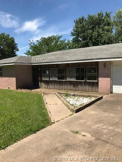 Nowata Single Family Home For Sale: 848 S Hickory Street