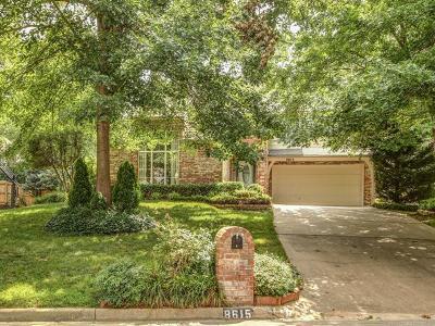 Tulsa Single Family Home For Sale: 8615 S Oswego Avenue