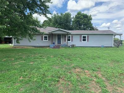Okmulgee County Single Family Home For Sale: 6689 Hornbeam Road