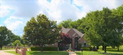 Owasso Single Family Home For Sale: 7250 N 194th East Avenue