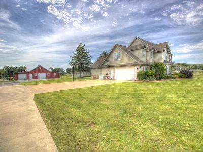 Claremore Single Family Home For Sale: 24550 S Meadow Circle Road