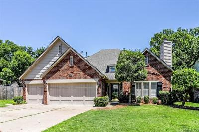 Tulsa Single Family Home For Sale: 7907 S Hudson Place