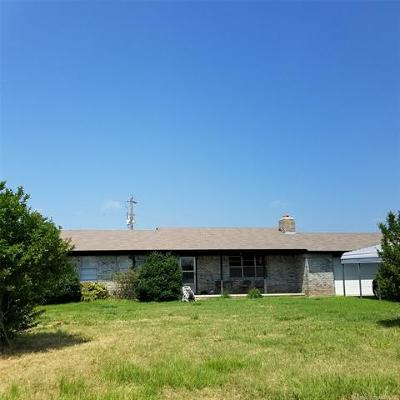 Bristow Single Family Home For Sale: 11696 S 337th West Avenue