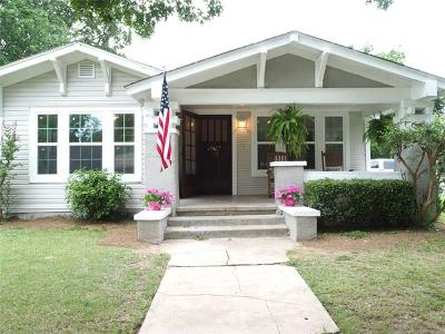Haskell Single Family Home For Sale: 612 W Main Street