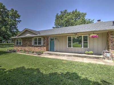 Oologah Single Family Home For Sale: 205 Will Rogers Loop