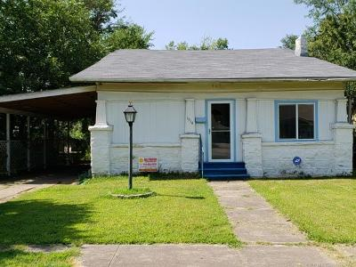 Okmulgee Single Family Home For Sale: 1514 E 8th Street