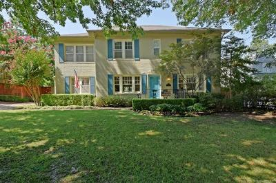 Tulsa Single Family Home For Sale: 2136 Terwilleger Boulevard