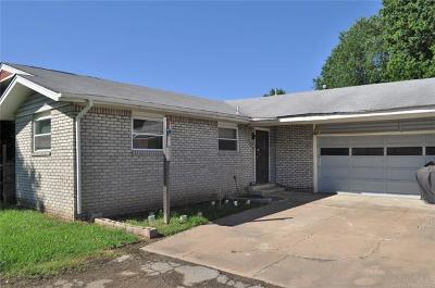 Claremore Single Family Home For Sale: 25985 S Clayton Avenue