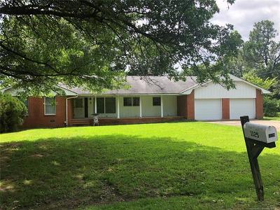 Muskogee Single Family Home For Sale: 1125 Skyview Drive