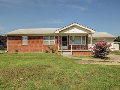 Sapulpa Single Family Home For Sale: 816 S Cedar Street