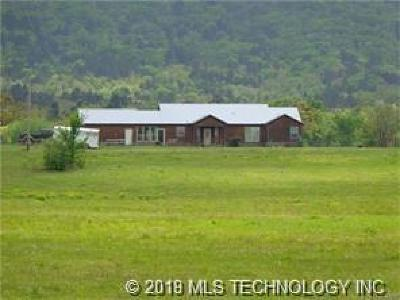 Talihina Single Family Home For Sale: 4051 Post Oak Road