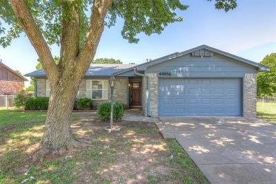 Sand Springs Single Family Home For Sale: 4906 Greenan Drive