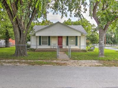 Sapulpa Single Family Home For Sale: 23 E Burnham Avenue