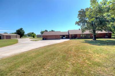 Claremore Single Family Home For Sale: 18577 S 4190 Road