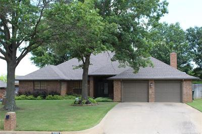 Muskogee Single Family Home For Sale: 3004 Bacon Road