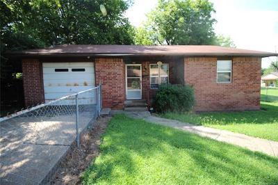 Poteau OK Single Family Home For Sale: $55,500