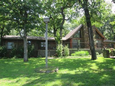 Fort Gibson Single Family Home For Sale: 129 Leaning Tree Road