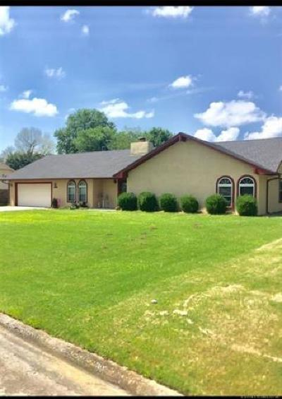 Muskogee Single Family Home For Sale: 2912 E Hayes Street