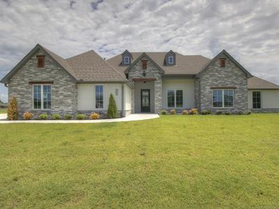 Owasso Single Family Home For Sale: 8503 N 153rd East Avenue