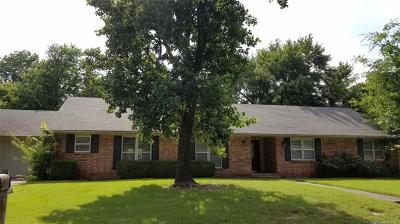 Muskogee Single Family Home For Sale: 2823 Suroya Street