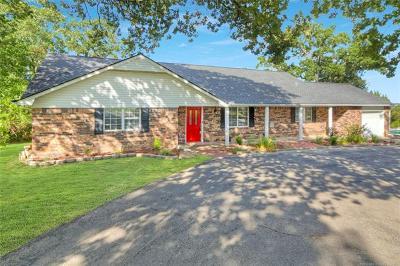 Sapulpa Single Family Home For Sale: 11701 Lakeside Drive