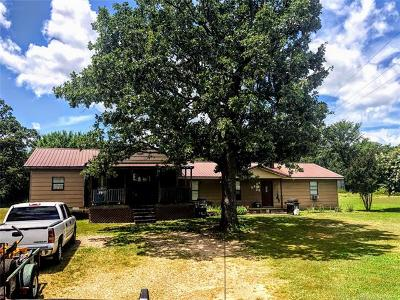 Sallisaw Single Family Home For Sale: 101757 S 4620 Road