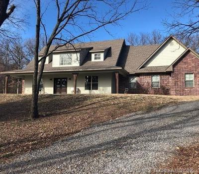 Fort Gibson Single Family Home For Sale: 1441 Deer Run Road