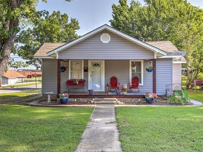 Sapulpa Single Family Home For Sale: 1201 E McKinley Avenue