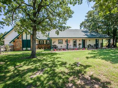 Sand Springs Single Family Home For Sale: 4805 Stonewall Terrace